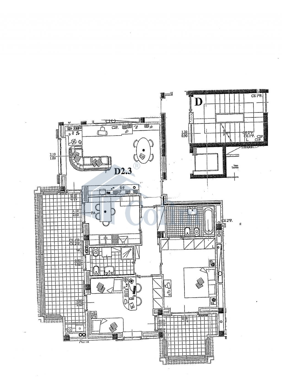 Trilocale ampio e luminoso in nuova costruzione a   San Bovio (Peschiera Borromeo) - in Vendita - 16
