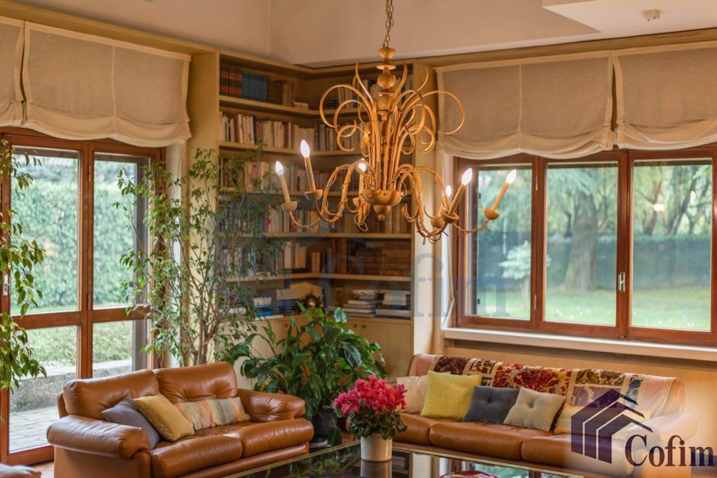 Villa singola prestigiosa con giardino di 1.600 mq  San Felice (Segrate) - in Vendita - 19
