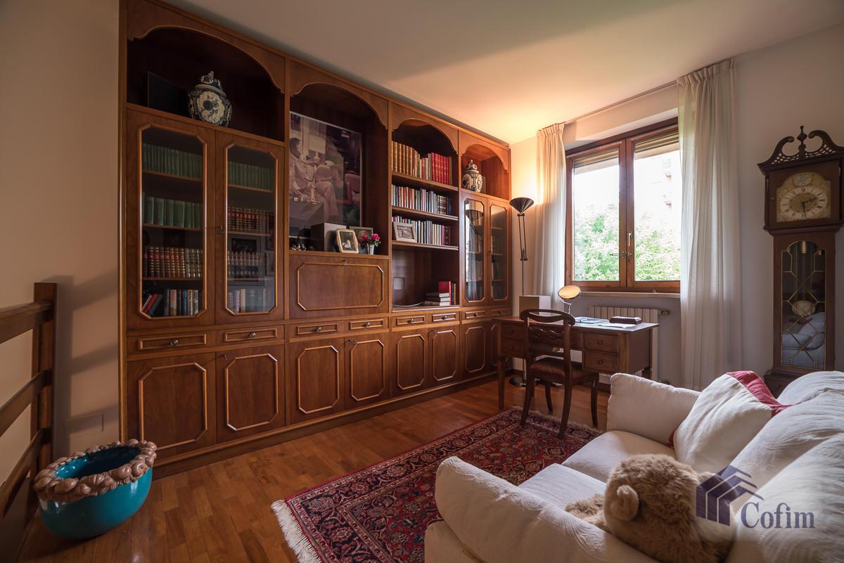 Villa a schiera con giardino su tre lati a  Zelo Foramagno (Peschiera Borromeo) Vendita in Esclusiva - 19