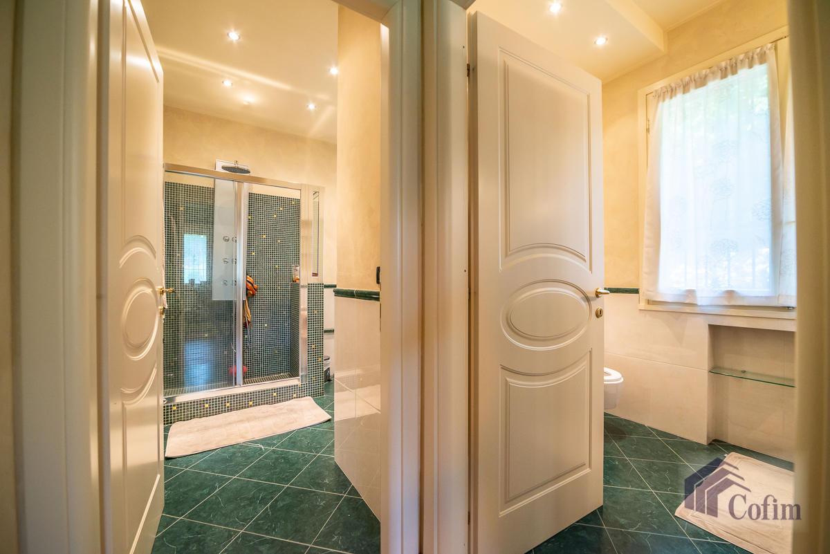 Villa singola con piscina e 10.000 mq di parco vista lago  Vescogna (Calco) - in Vendita - 47
