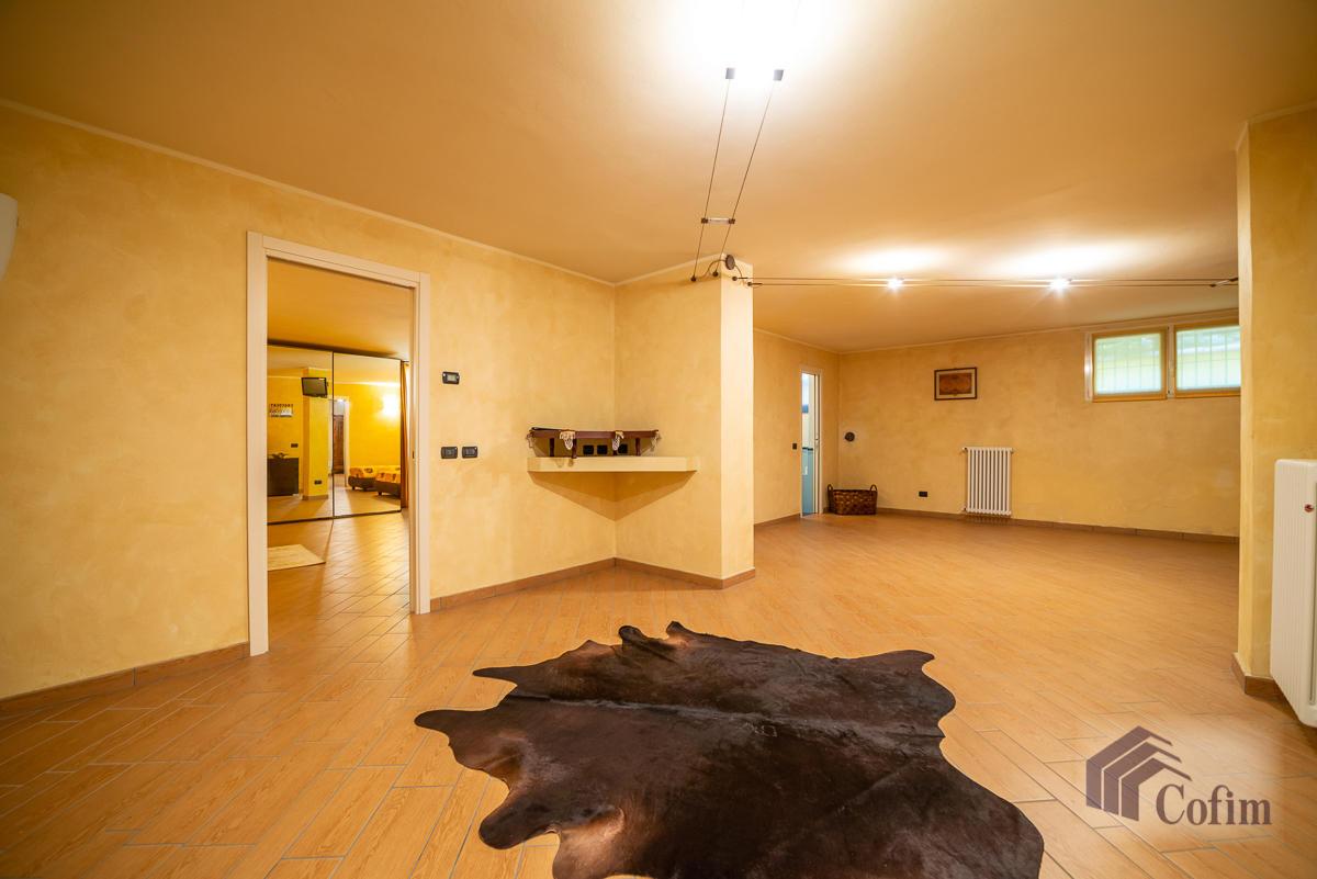 Villa singola con piscina e 10.000 mq di parco vista lago  Vescogna (Calco) - in Vendita - 33