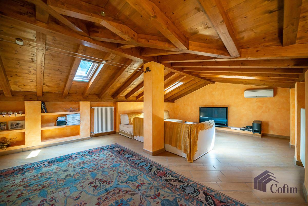 Villa singola con piscina e 10.000 mq di parco vista lago  Vescogna (Calco) - in Vendita - 38