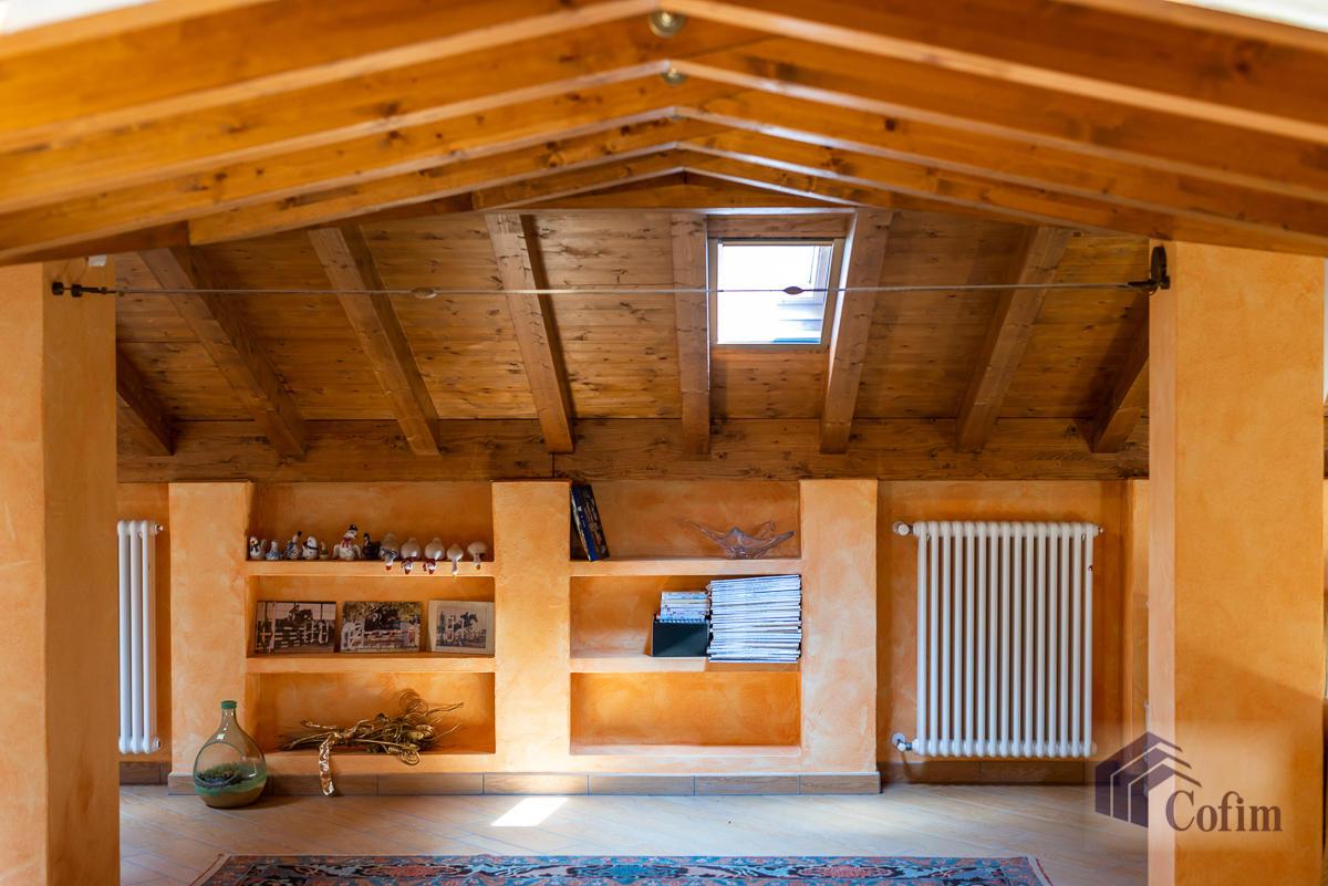 Villa singola con piscina e 10.000 mq di parco vista lago  Vescogna (Calco) - in Vendita - 43