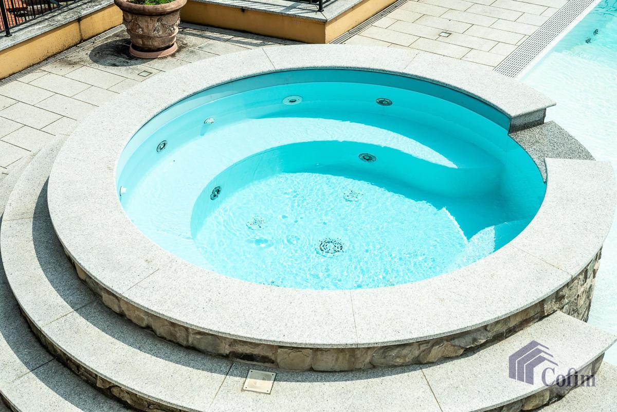 Villa singola con piscina e 10.000 mq di parco vista lago  Vescogna (Calco) - in Vendita - 7