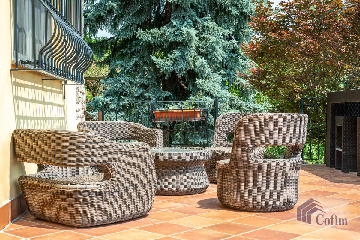 Villa singola con piscina e 10.000 mq di parco vista lago  Vescogna (Calco) - in Vendita - 9