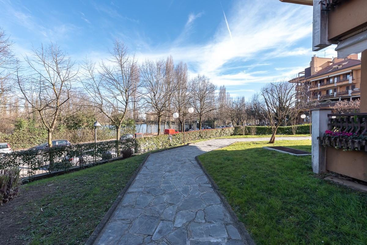 Attico con vista laghetto  Zelo Foramagno (Peschiera Borromeo) Vendita in Esclusiva - 12