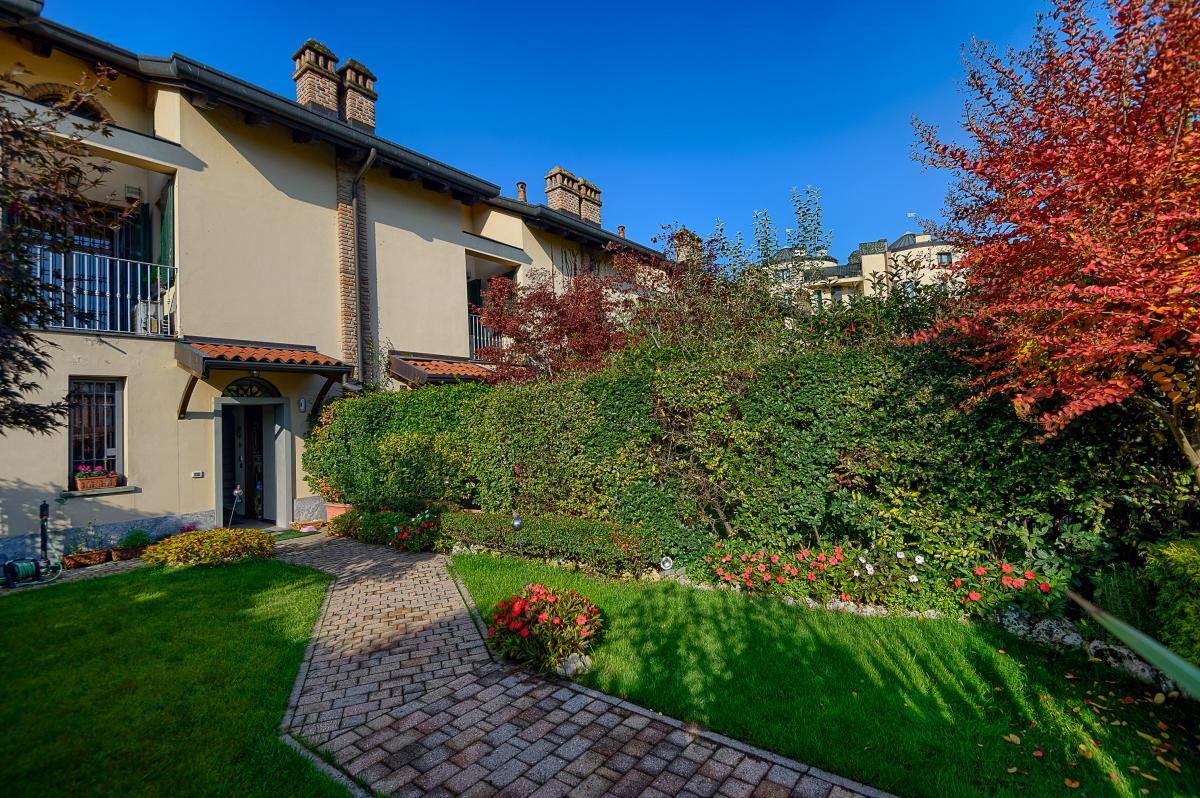 Villa a schiera nella  Residenza Longhignana (Peschiera Borromeo) Vendita in Esclusiva - 7
