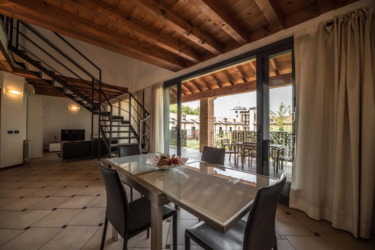 Trilocale ampio, su due livelli, nella  Residenza Longhignana (Peschiera Borromeo) Affitto in Esclusiva - 6