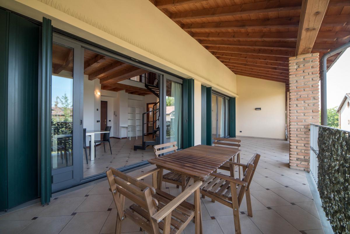 Trilocale ampio, su due livelli, nella  Residenza Longhignana (Peschiera Borromeo) Affitto in Esclusiva - 4