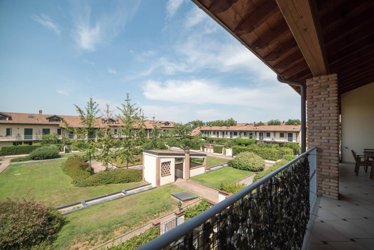 Trilocale ampio, su due livelli, nella  Residenza Longhignana (Peschiera Borromeo) Affitto in Esclusiva - 7