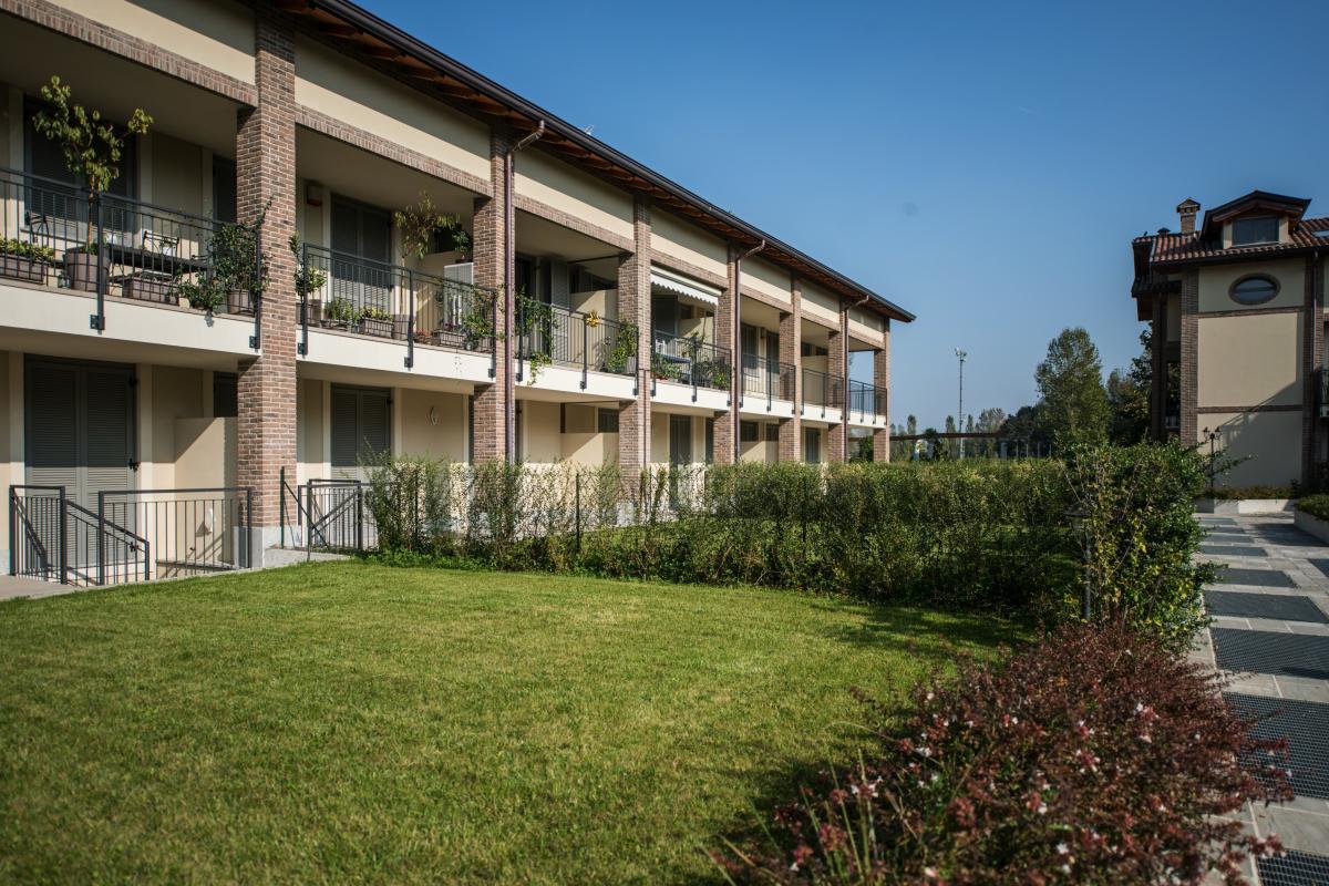 Trilocale nuovo con giardino e taverna in   San Bovio (Peschiera Borromeo) Vendita in Esclusiva - 8
