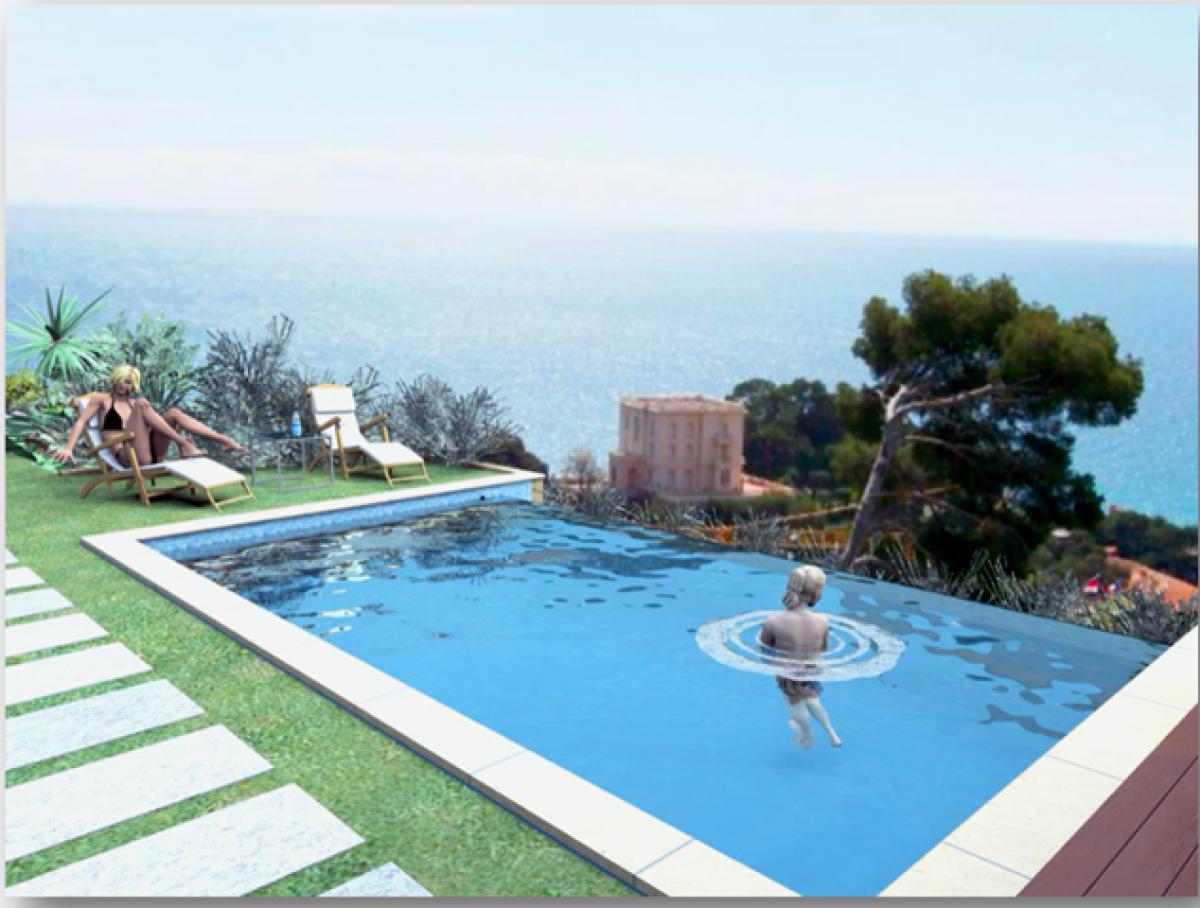 Villa singola con vista mare a Roquebrune-Cap-Martin   in Vendita - 5