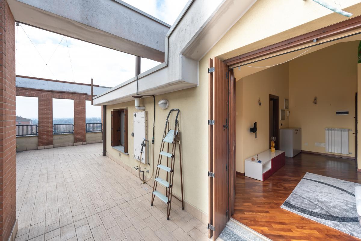 Attico con grande terrazzo  Bettolino (Mediglia) Vendita in Esclusiva - 4