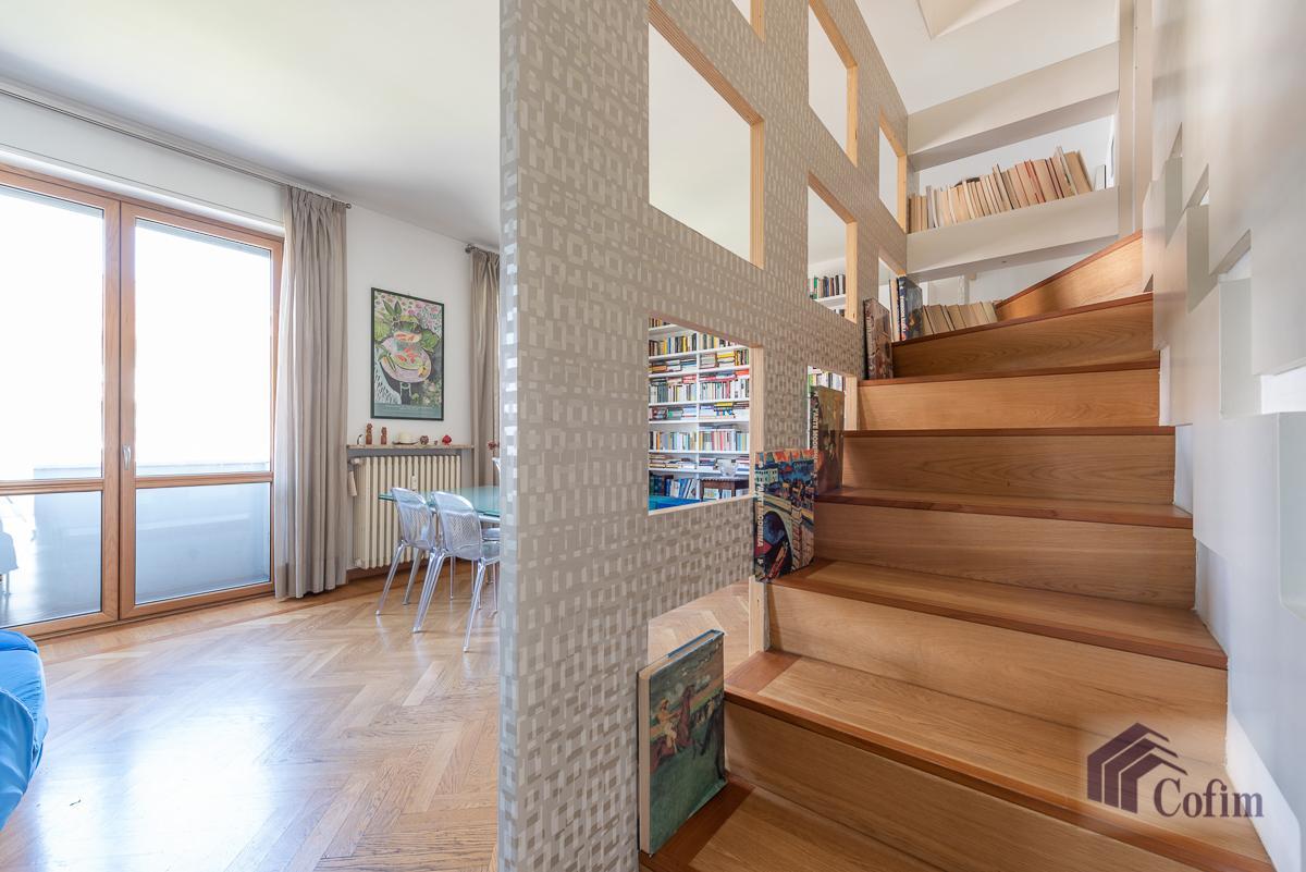 6 Locali elegante attico  Milano (P.ta Romana) Vendita in Esclusiva - 23