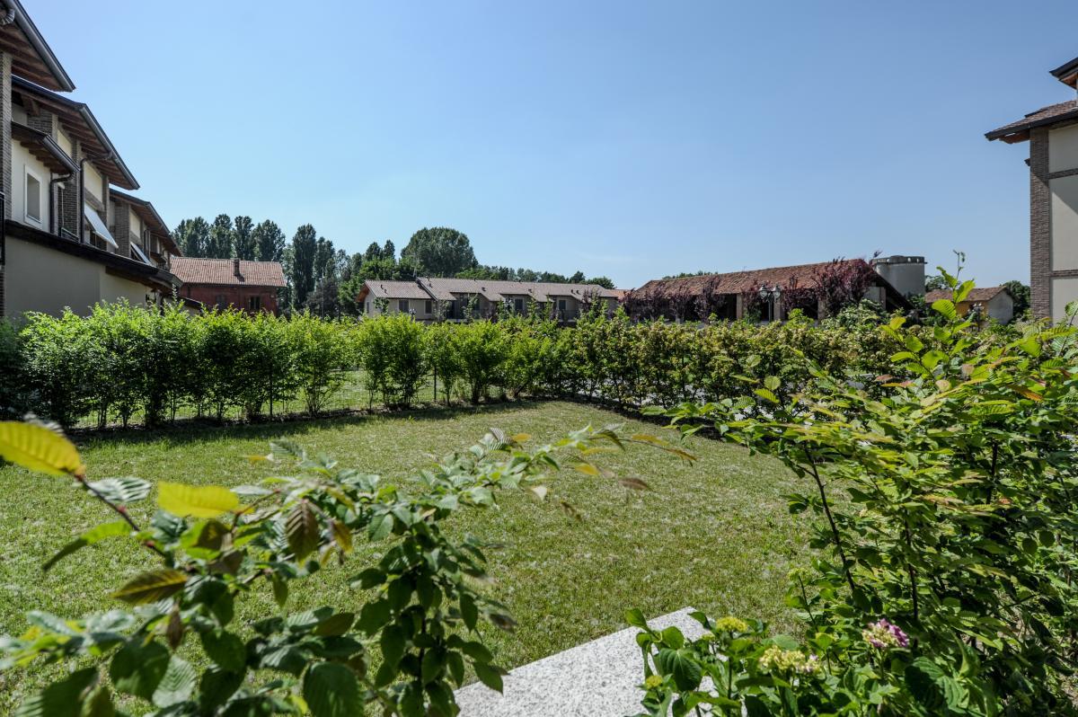 Trilocale nuovo con giardino e taverna in  San Bovio (Peschiera Borromeo) Vendita in Esclusiva - 15