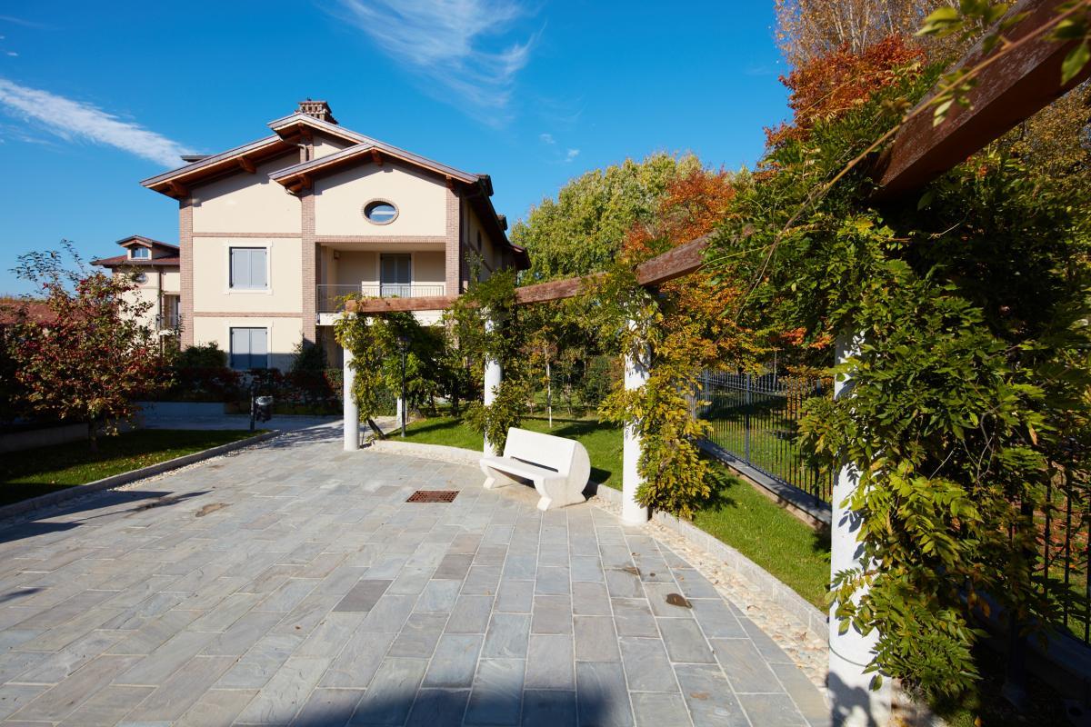 Trilocale nuovo con giardino e taverna in  San Bovio (Peschiera Borromeo) Vendita in Esclusiva - 12